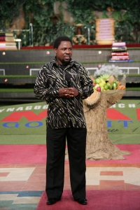 TB Joshua - a prophet of God is a communicator between the visible and the invisible