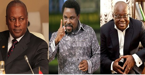 TB Joshua Again on 2012 Ghana Election?