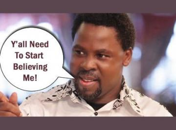 TB JOSHUA DELIVERANCE TRUELY OF GOD? – TB Joshua Fans UK News