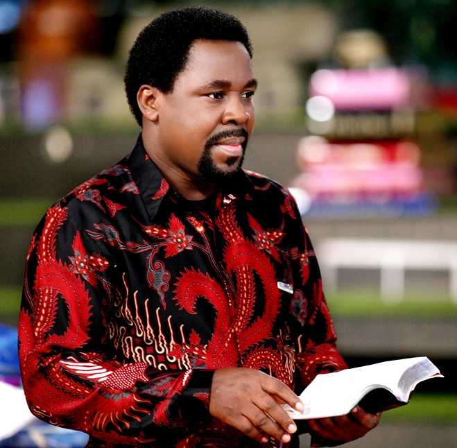 TB Joshua of The Synagogue Church of all Nations