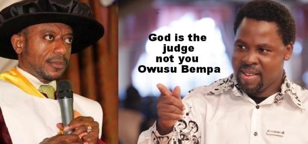 Owusu Bempah vs TB Joshua