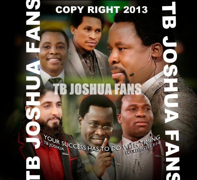 TB JOSHUA AND THE FIVE WISE MEN