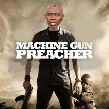 Machine Gun Preacher - Pastor Ayo Oritsejafor, President of CAN