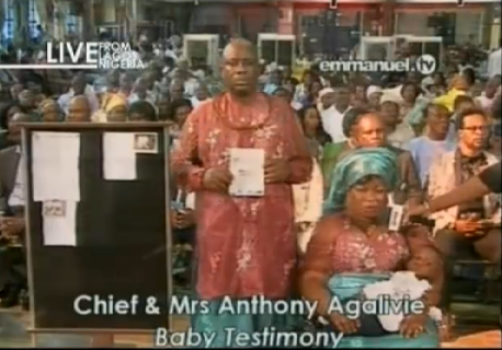 Chief and Mrs Anthony Agalivie from Delta, Nigeria