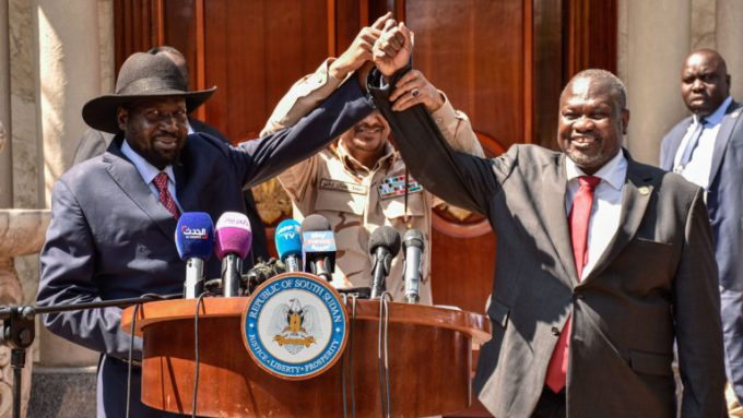 South Sudan peaces, tb joshua
