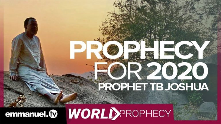 tb joshua, scoan, 2020 prophecy